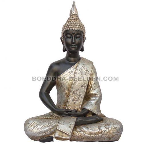 Zittende Thaise Meditatie Boeddha 31cm