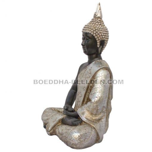 Zittende-Thaise-Meditatie-Boeddha-31cm-linkerzijde
