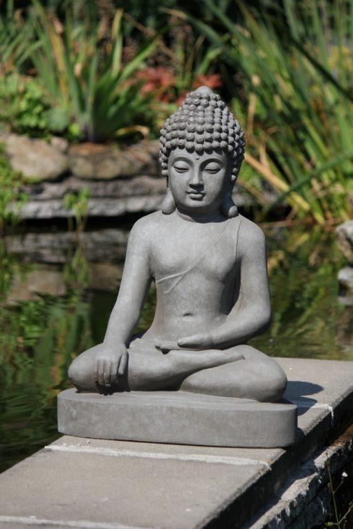 Zittende Boeddha Tuinbeeld