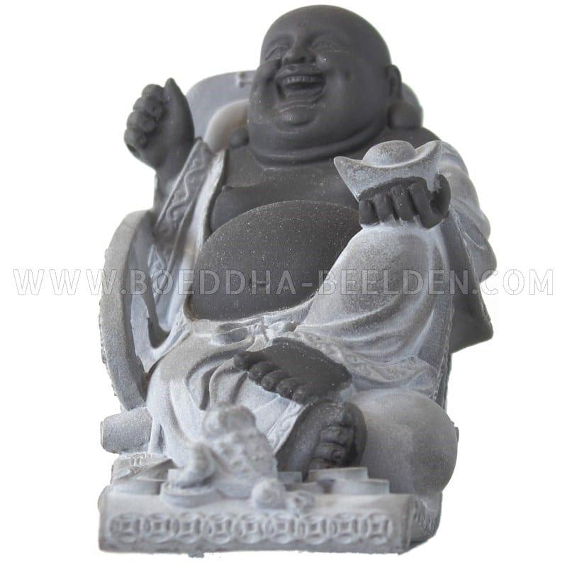 lachende boeddha schommelstoel bhb1006018 16cm 1 boeddha