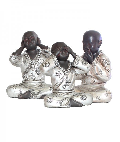 428-horen-zien-zwijgen-monnik-24cm-voor