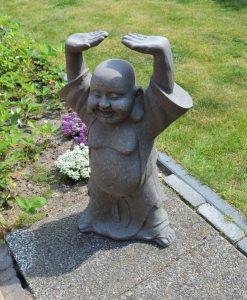 Tuinbeeld Shaolin Staand 44cm & 63cm