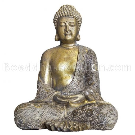 Japanse Boeddha Brons Look 30cm