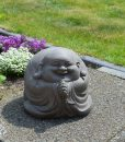 Lucky Boeddha Zittend 23cm Fiberclay