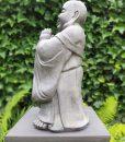Tuinbeeld Lucky Boeddha Biddend