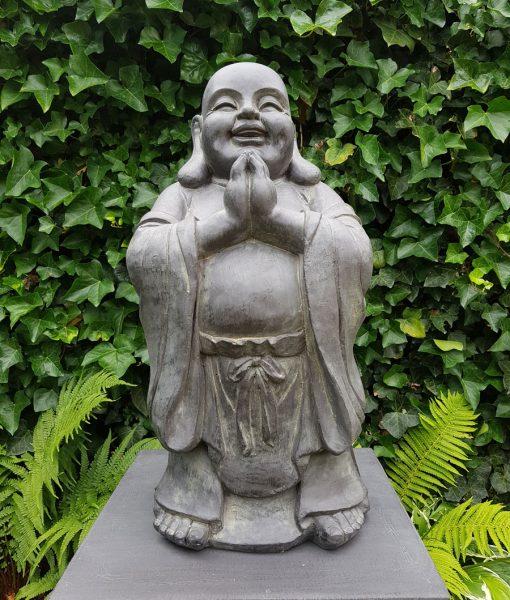 Tuinbeeld Lucky Boeddha Boeddha Biddend