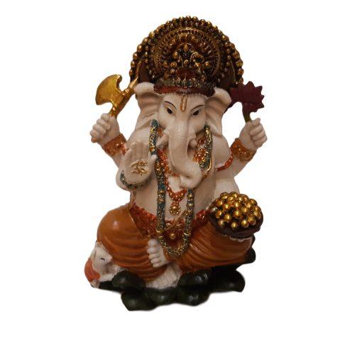 Ganesha Beeldje Gekleurd 15cm