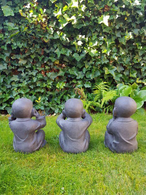 Kindermonniken Horen Zien en Zwijgen