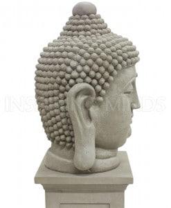 Boeddha hoofd 60cm 4