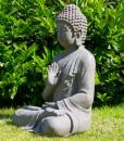 boeddha gerechtigheid 73cm grijs buiten 2