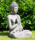 boeddha gerechtigheid 73cm grijs buiten 3