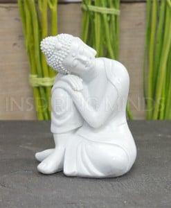 boeddha rustend wit 10cm 1