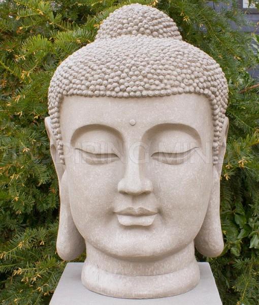 japans boeddha hoofd tuin 70cm tuin 1