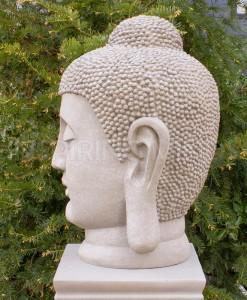 japans boeddha hoofd tuin 70cm tuin 3