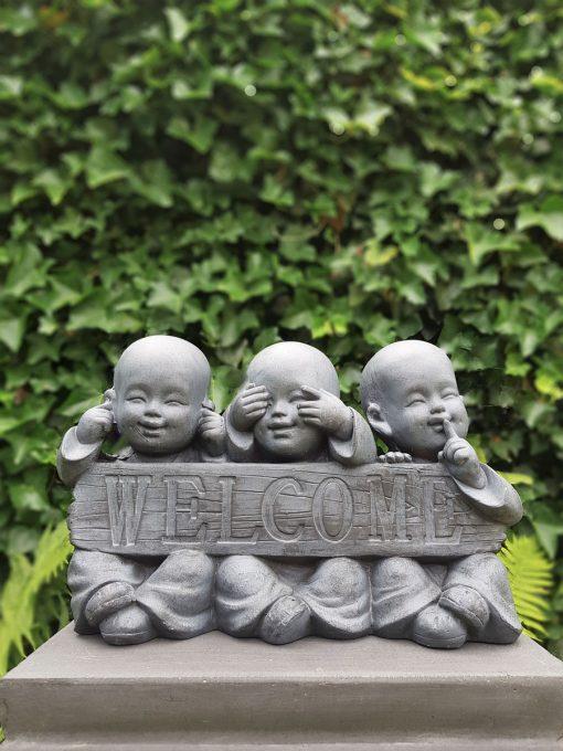 Kindermonnik horen zien zwijgen welcome