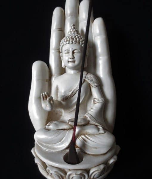 wierookhouder-boeddha-met-hand-wit