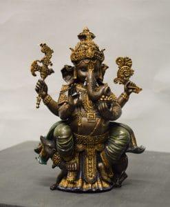 Ganesha brons kleur
