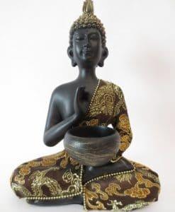 Thaise Boeddha met kom