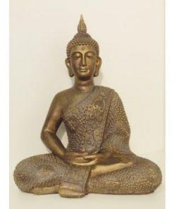 Boeddha zittend brons