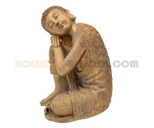 slapende Boeddha brons