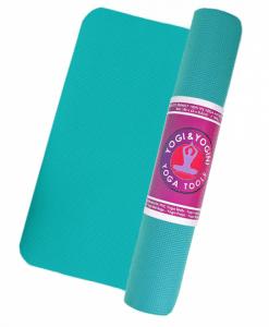 Comfortabele Yoga mat turquoise