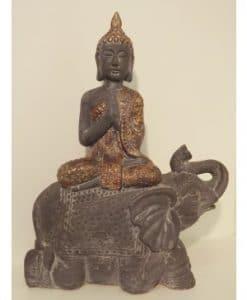 Thaise Boeddha op olifant