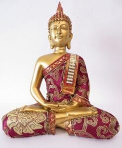 Thaise Boeddha goud en rood