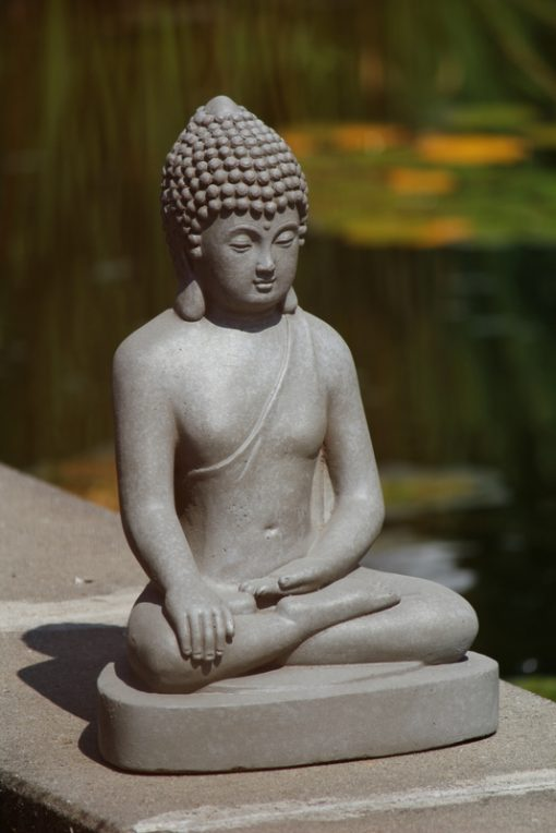 boeddha-zittend-tuinbeeld-40cm
