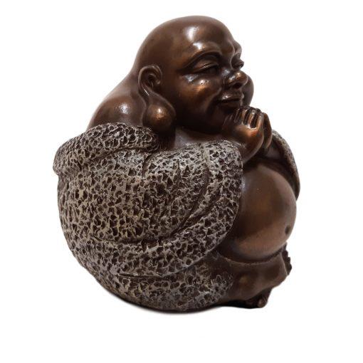 Happy Boeddha brons