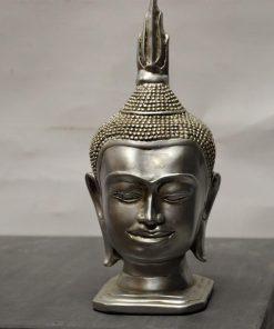 Boeddha hoofd zilverkleur