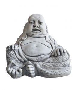 Boeddha dikbuik beton