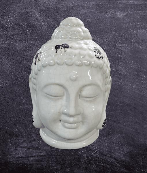 Boeddha hoofd keramiek
