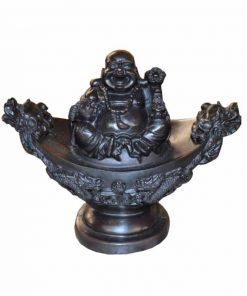 Chinese boeddha op schaal