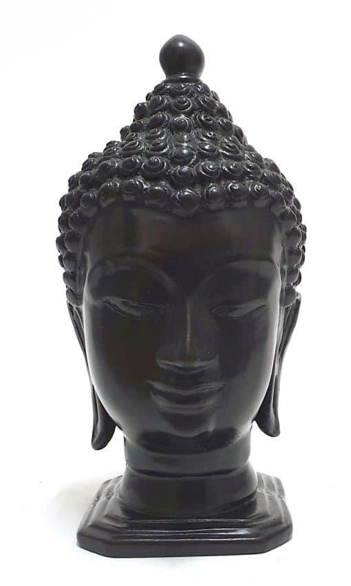 Boeddha-hoofd-BB771-Chiang-San--Resin-voorzijde