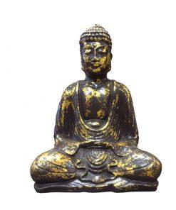 Boeddha lotushouding antiek goud