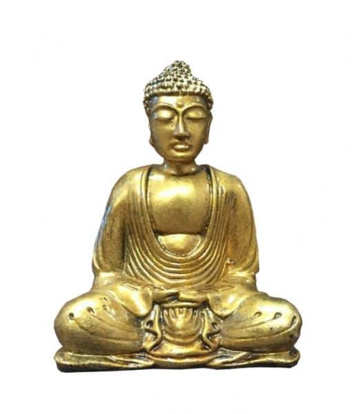 Boeddha lotushouding goud