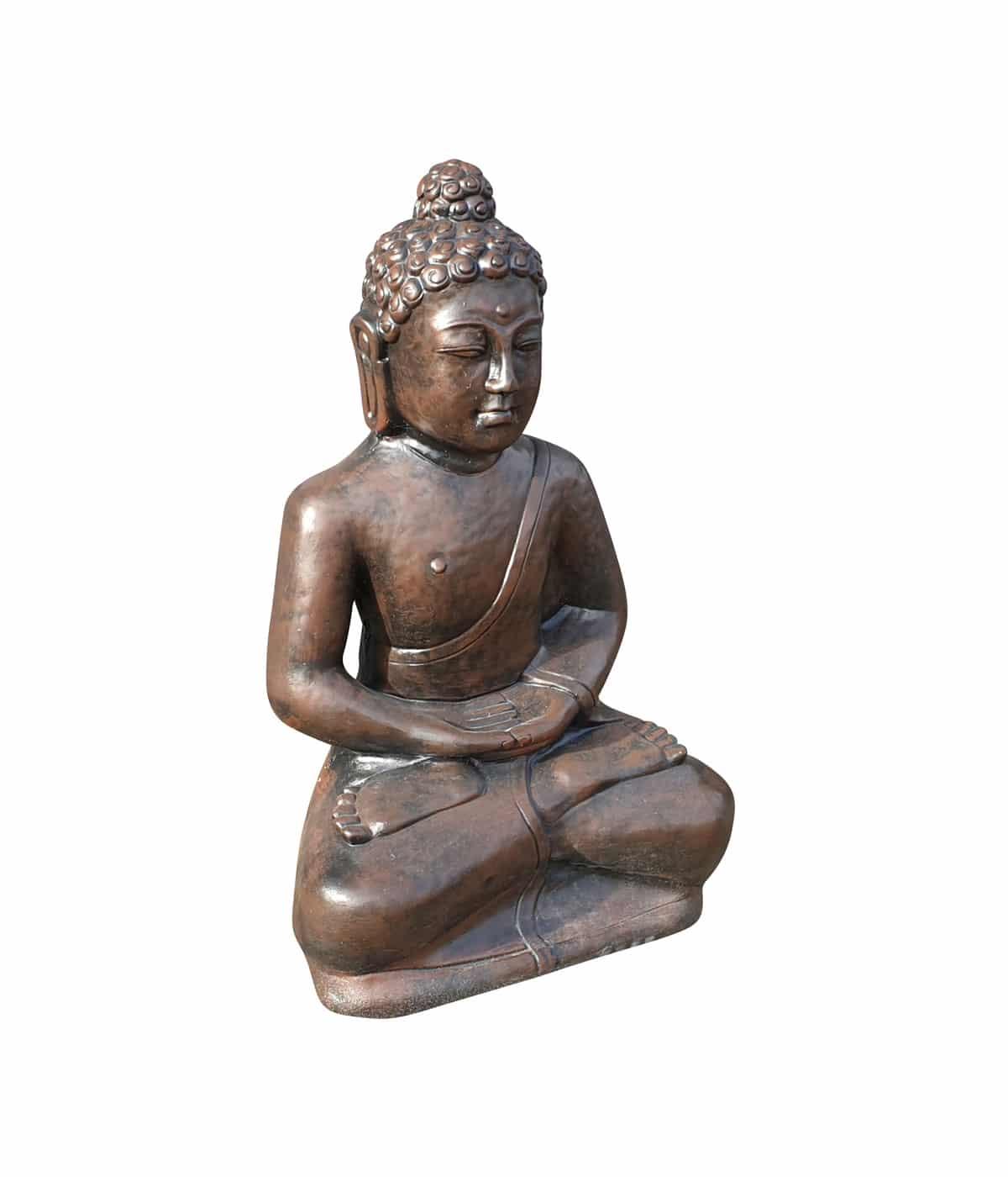 Boeddha Beeld Beton.Unieke Boeddha Zit Beton 80 Cm Hoog Boeddha Beelden Com