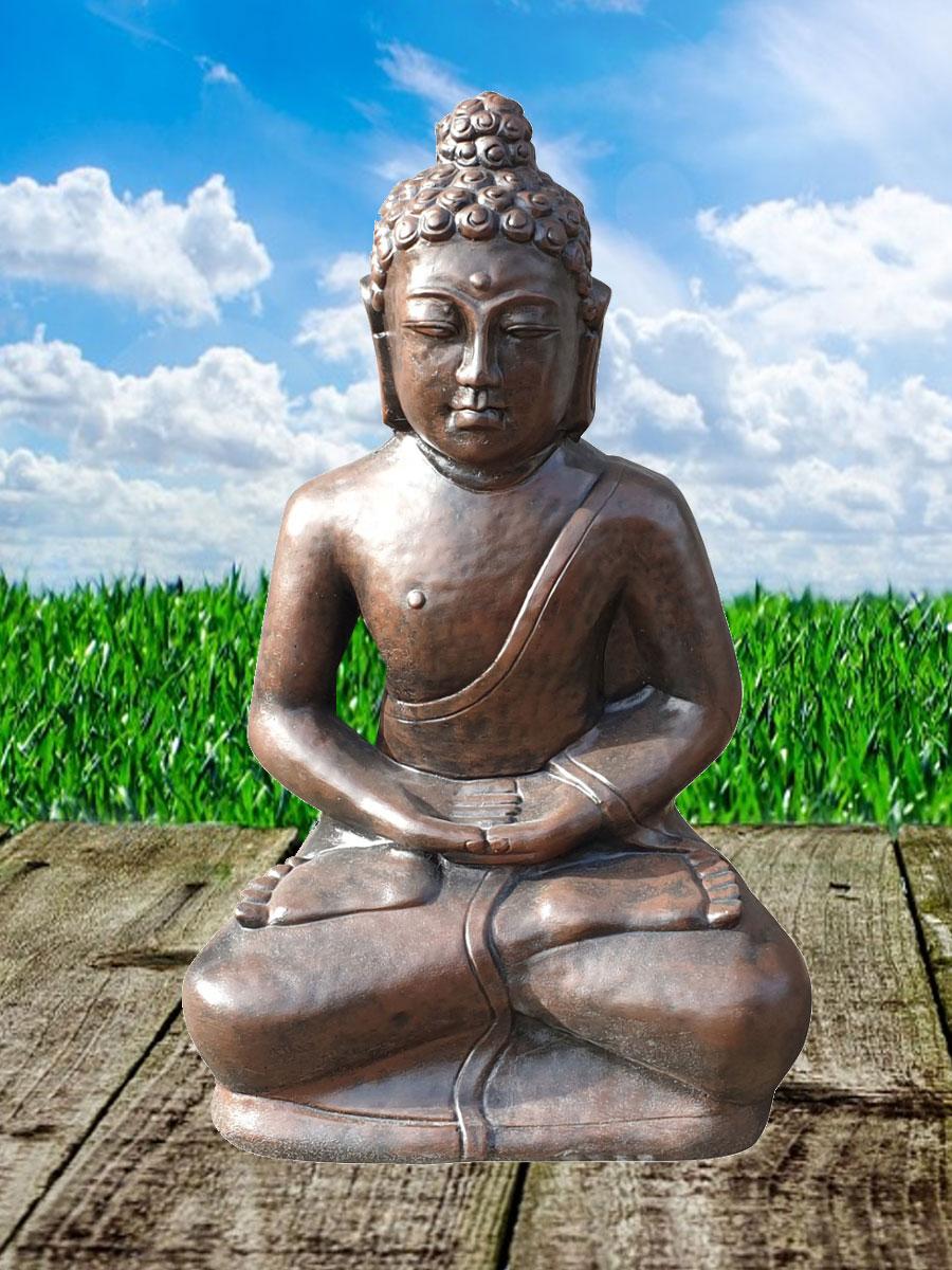 Boeddha Beeld Beton.Boeddha Zit Beton