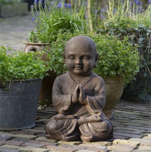 Shaolin-beeld-namaste-mudra-40cm
