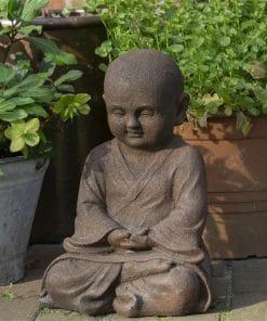 Meditatie-beeld-Shaolin-monnik-42cm