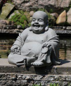 Grote lachende Boeddha