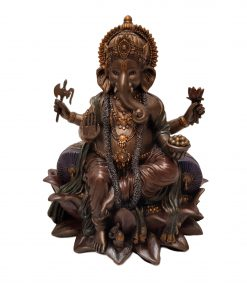 Ganesha Brons van 21 cm (1)