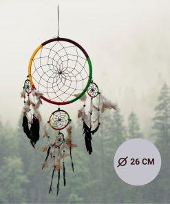 Dromenvanger-meerkleurig-84CM---Dreamcatcher-met-3-extra-ringen-1