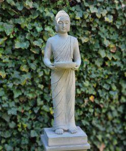 Staand-Boeddha-beeld-met-schaal-grijs-9