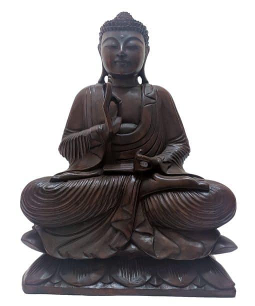 Handgemaakte Boeddha van 50cm uit Bali