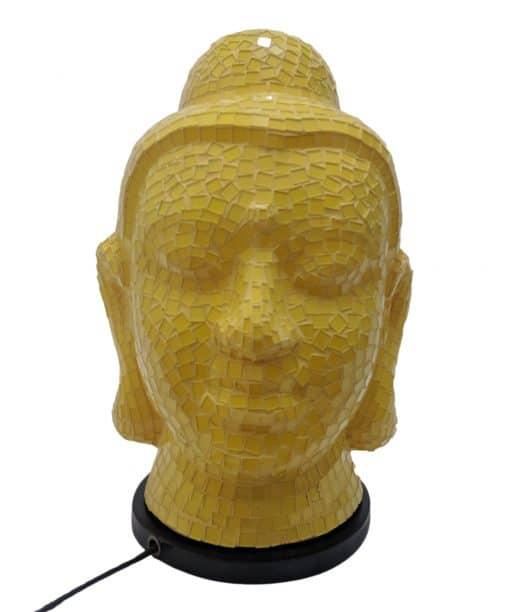 Mozaïeklamp boeddha beeld tafellamp 40 cm