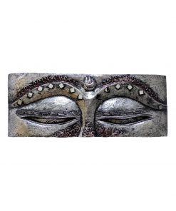 Wanddecoratie Boeddha Houten paneel 50 cm